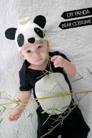Girls Panda Halloween Costume Homemade Animal Costumes