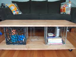 milk crate shelves ideas to live the diy life tutorial metal milk crate coffee table