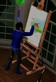 Drafting Table Wiki Painting The Sims Wiki Fandom Powered By Wikia