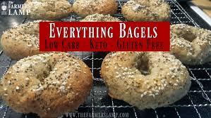 Seeking Bagel Everything Bagels Low Carb Keto Gluten Free Grain Free