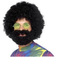 halloween costume wigs jerry garcia costume wig and beard halloween
