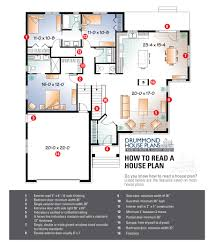 how to read a floor plan drummond house plans p luxihome