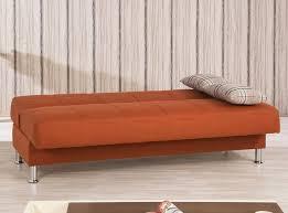Orange Sleeper Sofa Modern Sleeper Sofa Eco Plus Orange By Casamode