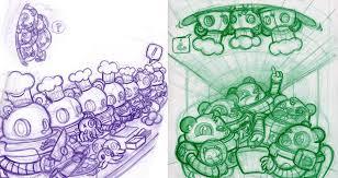 cris rose x podgypanda collaborate on robot pandas
