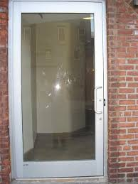 Frosted Glass Exterior Door Simple Plain Glass Exterior Door Affordable Exterior Front Entry