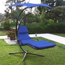 Hanging Chaise Lounge Chair Triyae Com U003d Backyard Hammock Swing Various Design Inspiration