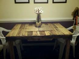 Dining Table Without Chairs 7 Sweet Displaying Of Pallet Dining Room Table Homeideasblog Com
