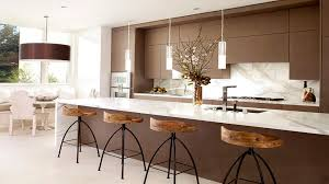 unique counter stools unique counter height bar stools facing long brown island with