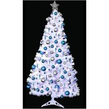 excellent ideas 6ft white tree trees silver and gold