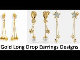 earrings images drop earrings gold online in india