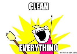 Cleaning Meme - meme cleaning