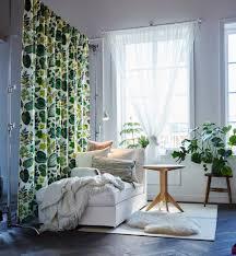 syssan gordijnen 1 paar wit groen room decor pinterest