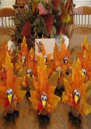 crafts for thanksgiving table decorations best images