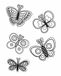 coloring pictures of small butterflies sheknows com free printable coloring pages craft templates