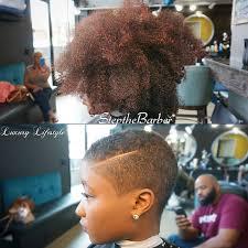balding black women natural hair syyle big chop via stepthebarber http community