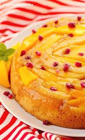 mango upside down cake recipe mango cake sunshine and tasty