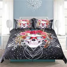 Free Bed Sets Buy Sugar Skull Bedding Set Free Shipping 2 Matching Covers