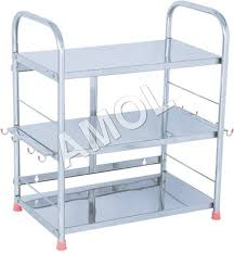 Stainless Steel Kitchen Shelves by Stainless Steel Kitchen Racks Home Design Interior And Exterior