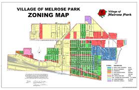 Illinois Time Zone Map by Village Of Melrose Park Ronald M Serpico Mayor