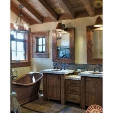bathroom fancy rustic bathroom decor with rectangle textured