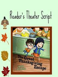 thanksgiving reader s theater bundle by library world tpt