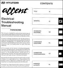 1997 hyundai accent wiring diagram hyundai wiring diagram