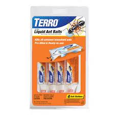 Ants In Kitchen Cabinets Terro Liquid Ant Baits 0 36 Oz 4 Ct Walmart Com
