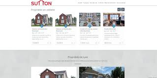 website design discover the brand new website of sutton real estate
