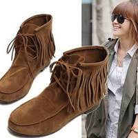 womens fringe boots target s mossimo supply co ruthie fringe from target