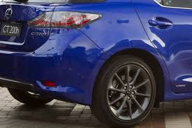 lexus hatchback non hybrid new lexus ct 200h f sport receives world premiere at 2010 sydney show