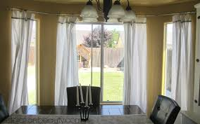 bay window curtain rods 69 stunning decor with curved curtain rod