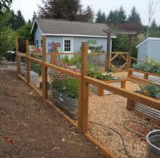 hog wire panels decks ideas wood hog netting garden fencing