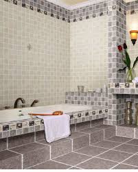 bathrooms design white grey bathroom accent wall tiles ceramic