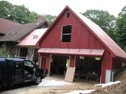 Gambrel Roof Garages by Barn And Breezeway Power And Company Builders