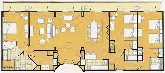 disney boardwalk villas floor plan disney world dining plan cost boardwalk villas three bedroom with