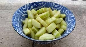 cuisiner concombre concombre mariné cambodge la tendresse en cuisine