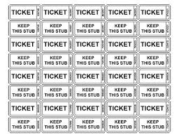 best 25 free raffle ticket template ideas on pinterest ticket