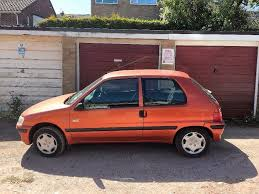 orange peugeot 106 manual ideal first car for sale in torquay