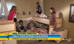 Parents Share Bed With  Kids Claim Sex Life Is Awesome - Family sex room