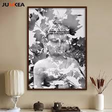 Peinture Noir Et Blanc by Achetez En Gros Bouddha Peinture Toile Noir Et Blanc En Ligne à