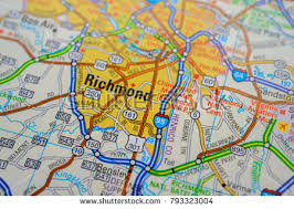 road map sle richmond map stock images royalty free images vectors