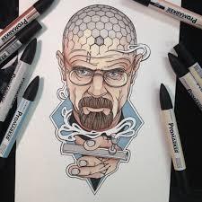 heisenberg chronicles u2022 walter white by chris browning a tattoo