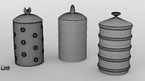 black canisters for kitchen 3d alessi kalisto kitchen canister cgtrader