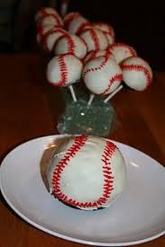 baseball cake balls cakes pinterest cake pops de beisebol