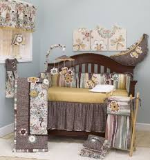 Camo Crib Bedding For Boys Khaki And Blue Camo Baby Bedding 9pc Crib Set 3 Sets For Boys