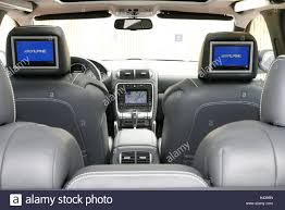 luxury minivan interior luxury cars porsche cayenne ground interior vehicle car stock