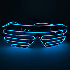 party sunglasses with lights neon led light party glasses genius products