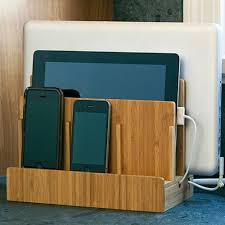 electronic charging station multi device charging station and dock organizing storage and phone