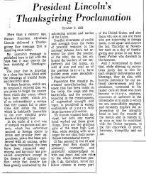 thanksgiving proclamation cousinharriet