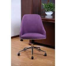 Purple Desk Chair Flash Furniture Mid Back Walnut Wood Swivel Conference Chair In